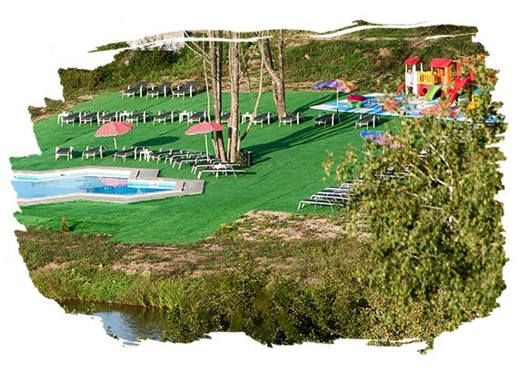 Spielplatz und Freizeitmöglichkeiten für Kinder